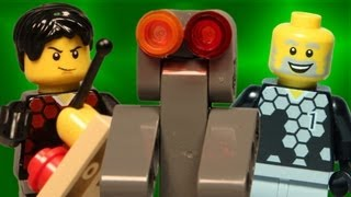 Team A vs Team B: Robot War (LEGO Animation)