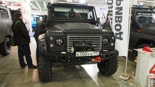 getlinkyoutube.com-Land Rover Defender 4x4 Offroad Tuning