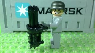 getlinkyoutube.com-NEW NAZI ZOMBIE LEGO GUNS