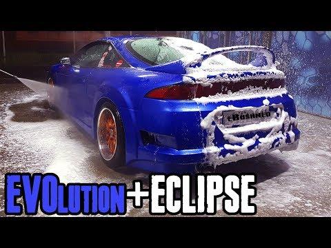 EVO 9 swapped Mitsubishi ECLIPSE : Evolution under the bottom evoclipse (part 2)