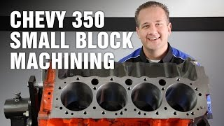 getlinkyoutube.com-How-To Machine Chevy 350 Small Block Engine Motorz #64