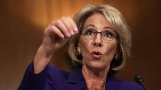 BETSY DEVOS: Guns in school protect against grizzly bears