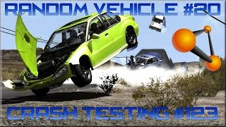 getlinkyoutube.com-BeamNG Drive Random Vehicle #20 Crash Testing #123