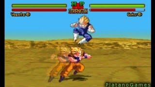 getlinkyoutube.com-Dragon Ball Z Ultimate Battle 22 - SS2 Goku vs Majin Vegeta - Majin Buu Saga - HD