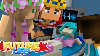 Minecraft FUTURE LIFE: IS LITTLE KELLY'S BABY ROBIN GOING TO DIE?? Little Donny Roleplay,