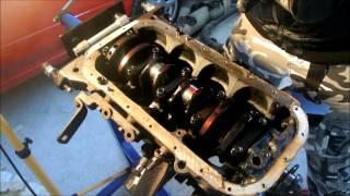 getlinkyoutube.com-4AGE AE86 MR2 trueno how to disassemble the engine block