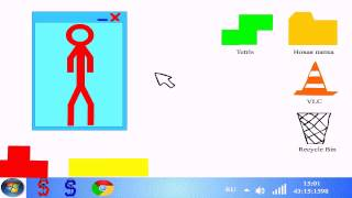 getlinkyoutube.com-Windows Stickman - 2