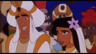Aladdin and Jasmine Finally get married! Wedding Scene HD