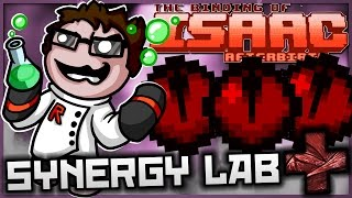 getlinkyoutube.com-The Binding of Isaac: Afterbirth+ - Synergy Lab: ULTIMATE ENERGY BALL!
