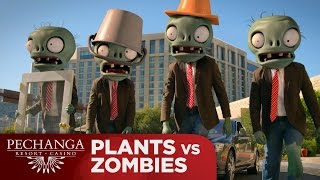 getlinkyoutube.com-Plants vs Zombies: Zombies Night Out!