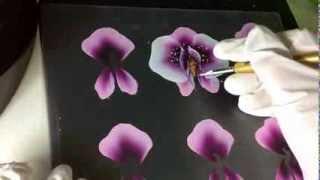getlinkyoutube.com-One Stroke Orchidee * Primadonna * Carmen Gulino