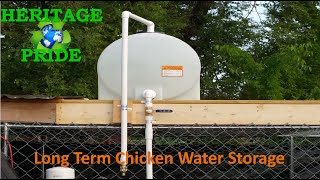 getlinkyoutube.com-Chicken Water Storage / Watering System by HPFirearms
