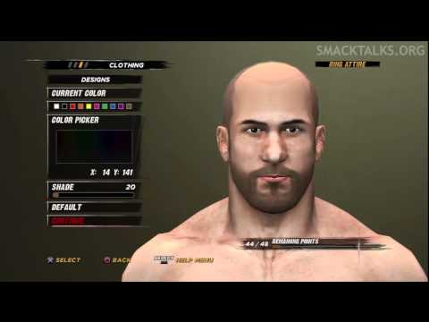 WWE '12 Antonio Cesaro CAW Formula by Dr. Vries &amp; GaMeVoLt