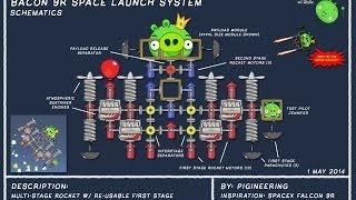 getlinkyoutube.com-SpaceX Falcon 9R Parody - Bad Piggies