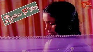 Best Romantic scene between Chiranjeevi and Radika