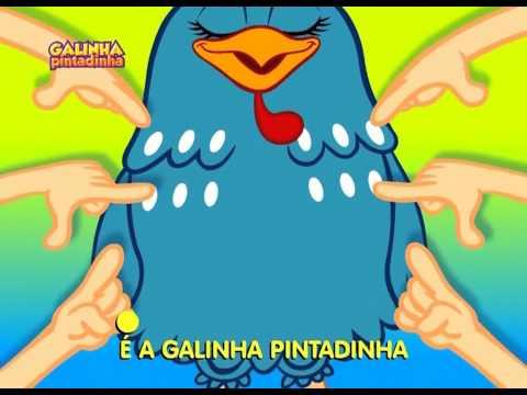 Galinha Pintadinha - videoclip infantil animado do DVD