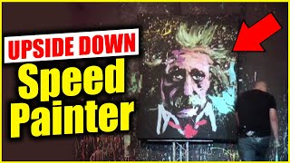 getlinkyoutube.com-UPSIDE DOWN - Speed Painter entertainer
