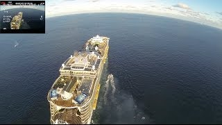 getlinkyoutube.com-Dji Phantom and Cruise 2 UNCUT iOSD 2.3km+