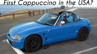getlinkyoutube.com-Driving the First Suzuki Cappuccino in America!