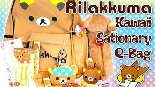 getlinkyoutube.com-Rilakkuma Q-Bag / Q-Box - Kawaii Monthly Surprise Subscription Box Unboxing