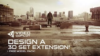 getlinkyoutube.com-Design a 3D Set Extension Tutorial! + FREE model pack!
