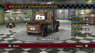 getlinkyoutube.com-Cars (PS2 Gameplay)