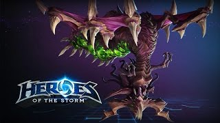 getlinkyoutube.com-♥ Heroes of the Storm (A-Z Gameplay) Zagara (HoTs Quick Match)