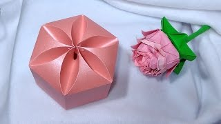Amazing DIY gift box. NO templates! Ideas for Valentine's gifts!