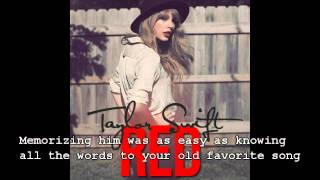 Taylor Swift - Red - Lyrics