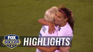 United-States-vs-Mexico-2018-Womens-International-Friendly-Highlights width=