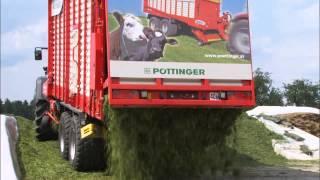 Pottinger JUMBO COMBILINE silage trailers