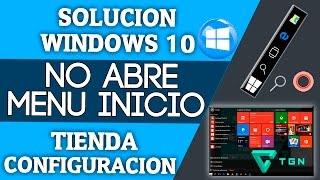 getlinkyoutube.com-SOLUCIÓN: Windows 10 | No Abre | Menu Inicio |Tienda | Configuración| Etc, Tutorial Completo