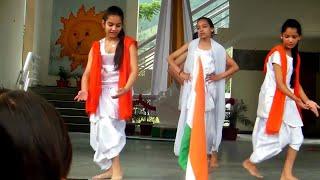 Desh Rangeela Rangeela Desh Mera Rangila Dance Performance by kids Independence day