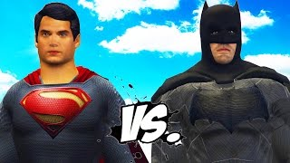 getlinkyoutube.com-SUPERMAN VS BATMAN - EPIC SUPERHEROES BATTLE