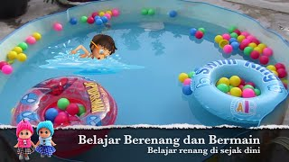 getlinkyoutube.com-The Swimming Pool Children's Toys ❤ Cool Toddler Water Play and Swim in the Pool Toys @LifiaTubeHD