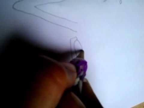 Como desenhar menina tomando banho