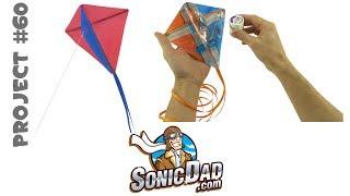 getlinkyoutube.com-The Sonic Micro Kite: SonicDad Project #60