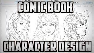 getlinkyoutube.com-Comic Book Character Design