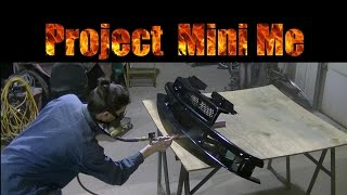 "getlinkyoutube.com-Project Mini Me ""Painting the Chrome Grill"""