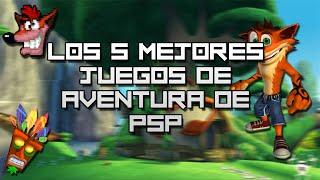 getlinkyoutube.com-Los 5 mejores juegos de aventura de PSP | luigi2498