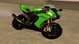getlinkyoutube.com-GTA San Andreas - Kawasaki Ninja Gameplay (MOD)