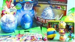 getlinkyoutube.com-Surprise Eggs: Furby Boom Dragons Defenders of Berk Toy Story Koo Koo Birds Surprise Toys