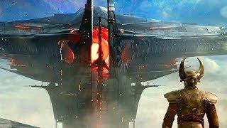 Attack On Asgard Scene - Thor: The Dark World (2013) Movie CLIP HD