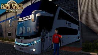 getlinkyoutube.com-Marcopolo G7 6x2 v4 + Pasajeros l Euro Truck Simulator 2 1.22-1.21
