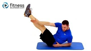 getlinkyoutube.com-Abs & Obliques Cardio Blend - Core Cardio Workout to Lose Belly Fat