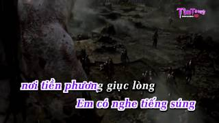 getlinkyoutube.com-Cô Gái Mở Đường Remix(Melody) Karaoke HD