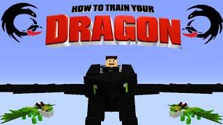 "getlinkyoutube.com-""Become A Dragon Rider"" - How To Train Your Minecraft Dragon | Minecraft Mod Showcase"