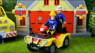 getlinkyoutube.com-Fireman Sam Episodes compilation Fire engines Fireman Rescue Feuerwehrmann Sam
