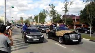 getlinkyoutube.com-Рамзан Кадыров встречает братву с кавказа
