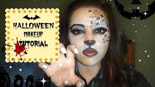 Halloween Tutorial / Maquillaje Animal Print - Mapo ♥